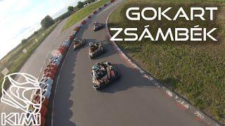 Zsámbék Drivingcamp Gokart FPV footage