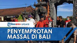 Kurangi Penyebaran Covid-19, Penyemprotan Massal Disinfektan Dilakukan di Bali