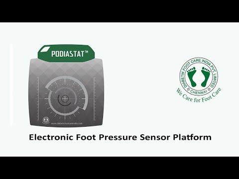 Foot Pressure Sensor Plate, Foot Scanner Model Podiastat