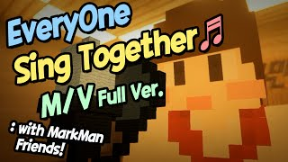 """""""Everyone Sing Together"""" M/V (Full Ver.) 마인크래프트 Minecraft [도티]"""