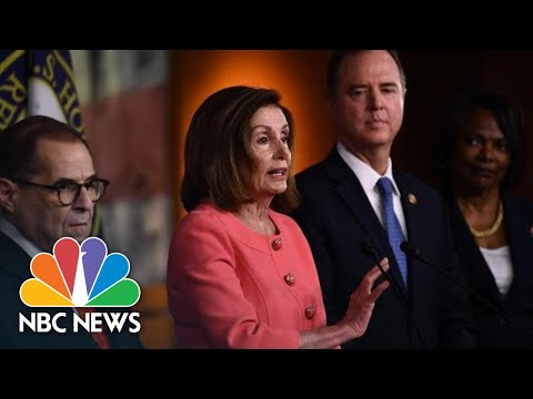 Nancy Pelosi On Decision To Withhold Articles Of Impeachment: 'Time Has Been Our Friend' | NBC News