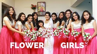 Latest Flower Girl Dress Patterns | Flower Girl Frock  | Bridesmaid Dresses Patterns In Kerala