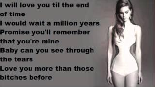"""Video thumbnail of """"Lana Del Rey   Blue Jeans lyrics"""""""
