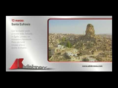 SANTO DEL GIORNO: SANTA EUFRASIA