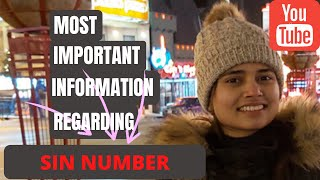 ALL ABOUT SIN NUMBER | APPLY ONLINE FOR SIN NUMBER | LOST SIN NUMBER