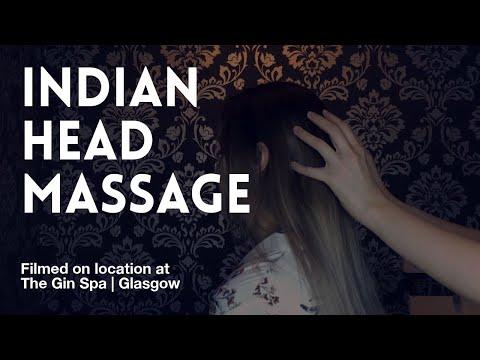 Indian Head Massage - YouTube