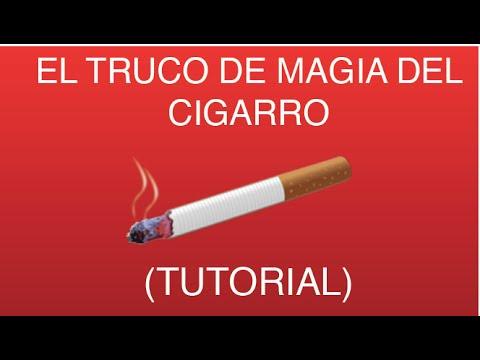Magia con cualquier cigarro! -TUTORIAL