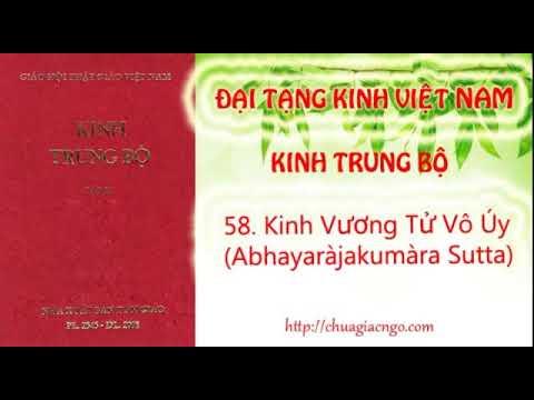 Kinh Trung Bộ - 058. Kinh Vương tử Vô-úy
