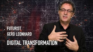 Short Excerpt: Keynote Smart Move 2019: Futurist Speaker Gerd Leonhard On #digitaltransformation