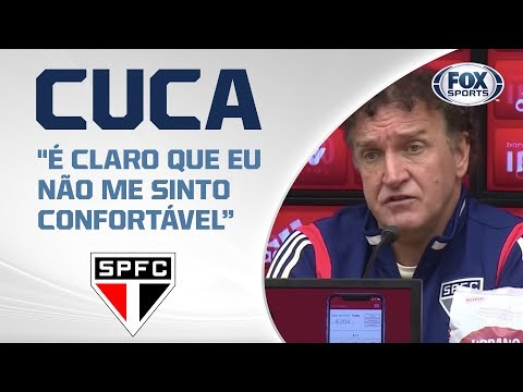DERROTA NO MORUMBI! Cuca fala após São Paulo 0x1 Goiás pelo Brasileirão