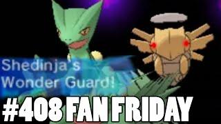 Shedinja Respect! Pokemon Omega Ruby Alpha Sapphire WiFi Battle! Fan Fridays #408 Vladimir