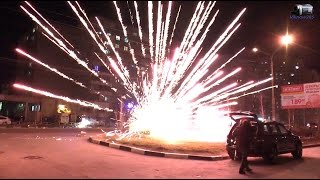 Подборка неудачных запусков пиротехники / Epic fireworks fail