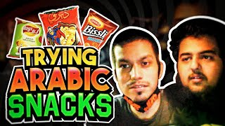 AMERICAN TRIES ARABIC SNACKS FOR THE FIRST TIME