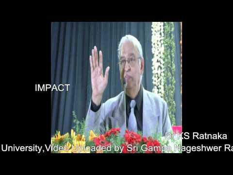 Power | Ks Ratnakar | TELUGU IMPACT Tirupati 2014
