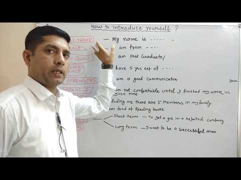 Download How to INTRODUCE Yourself?INTERVIEW Tips/अंग्रेजी में परिचय देना सीखें | Self INTRODUCTION Mp4 HD Video and MP3