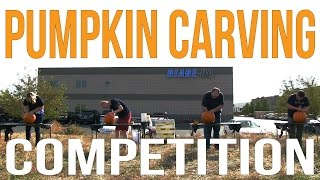 Competition Pumpkin Carving