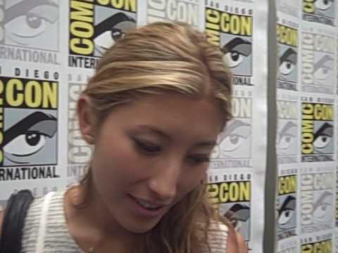 Fran Kranz and Dichen Lachman - 'Dollhouse' at Comic-Con 2009