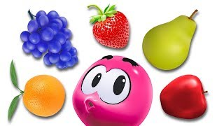 Learn Fruits Learn Colors Wonderballs Carrying Fruit | Cartoon Shows For Children by Cartoon Candy