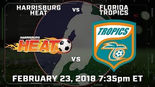 Harrisburg Heat vs Florida Tropics