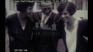 Family home videos, 1920's. Archive film 1516