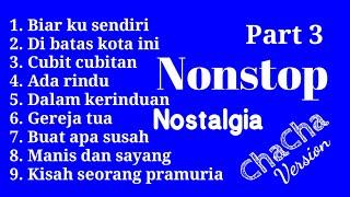 NONSTOP NOSTALGIA VOLUME 3 COVER CHACHA...
