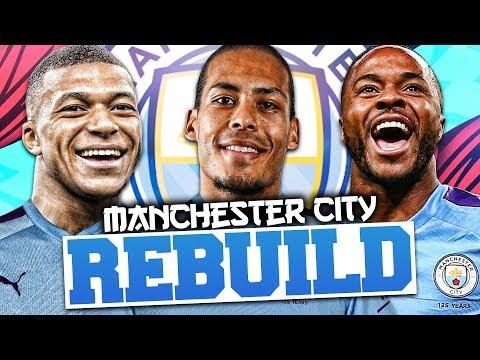 REBUILDING MANCHESTER CITY!!! FIFA 20 Career Mode