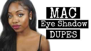 $5 MAC EYESHADOW DUPES   Karity Eye Shadows