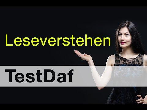 TestDaf часть Leseverstehen | Как сдать без проблем