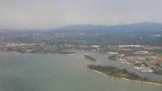 preview picture of video 'Landing At Kota Kinabalu, Sabah, MY'