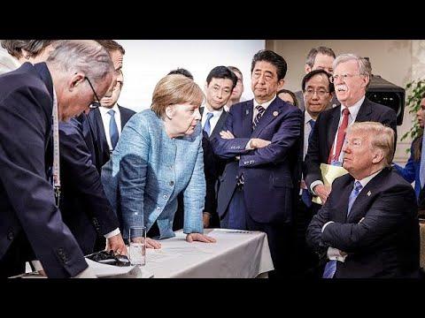 Μέρκελ: «Απογοητευτική και κάπως θλιβερή η στάση του Τραμπ στην G7»…