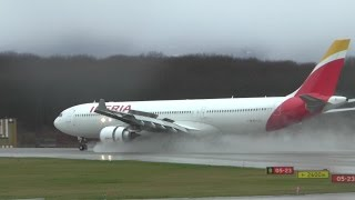 Download Video [HD] Spotting at Geneva Airport on a rainy day, with interesting traffic! - 14/02/2016 MP3 3GP MP4