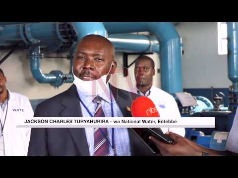 Aba national water Entebbe bakoze obweyamo okubunyisa amazzi