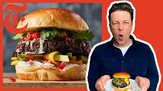 Jamie Olivers Ultimate Veggie Burgers | NYT Cooking