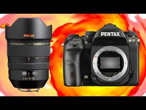 Pentax Full Frame - FIRST LOOK - K-1 & 15-30mm f2.8