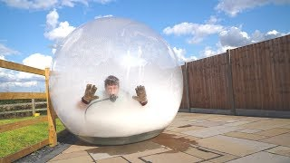 I Filled a Zorb Ball Full of Dry Ice (Why Did I Do This?)
