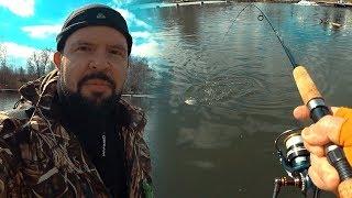 Отчет по рыбалке с подмосковных водоемов