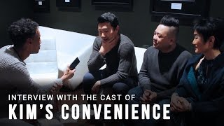 Interview with the cast of Kim\'s Convenience | CSA 2018