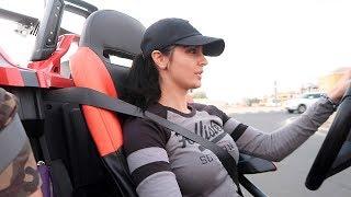 MOST AGGRESSIVE FEMALE DRIVER !!!