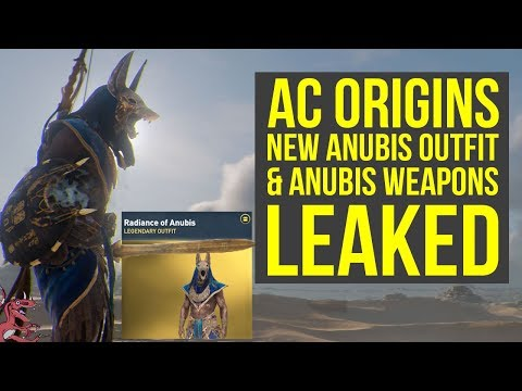 Anubis Armour Assassin S Creed Origins General Discussions