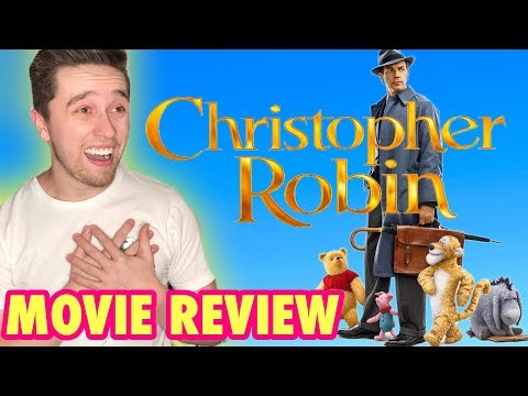 Christopher Robin – Movie Review (Live Action Winnie the Pooh Movie 2018)