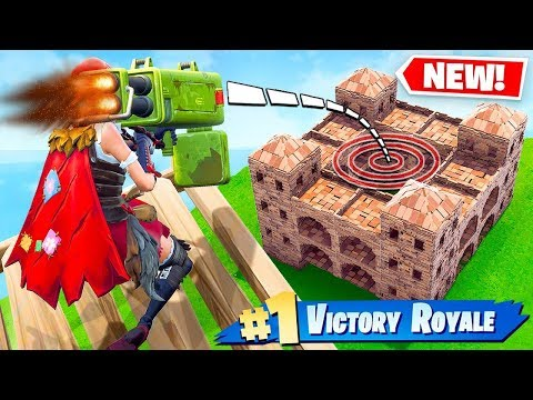 ROCKET WARS *NEW* Game Mode in Fortnite Battle Royale - SSundee