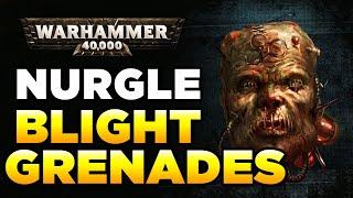 THE DEATH HEADS OF NURGLE (Blight Grenades) | Warhammer 40,000 Loregear
