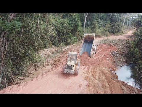 Concluído mais dois bueiros em Novo Horizonte do Norte