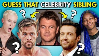 Can YOU Guess That Celebrity Sibling?!