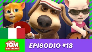 Talking Tom And Friends - Il Mago Del Ping-pong (Episodio 18)