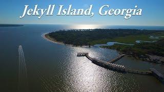 JEKYLL ISLAND DRONE VIDEO