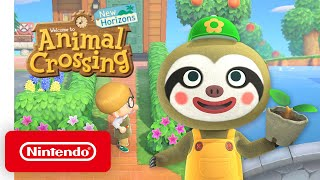 Animal Crossing: New Horizons - April Free Update - Nintendo Switch