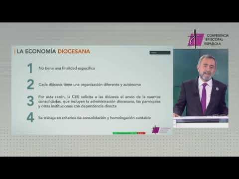 Fernando Giménez Barriocanal presenta las cifras económicas de la Iglesia en España