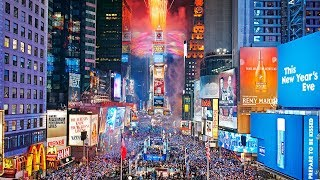 Meriahnya Pesta Tahun Baru di Time Square, dengan Suhu Terdingin Sepanjang Sejarah