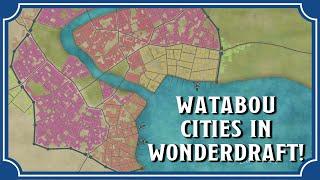 Watabou City Maps In Wonderdraft | Icarus Games